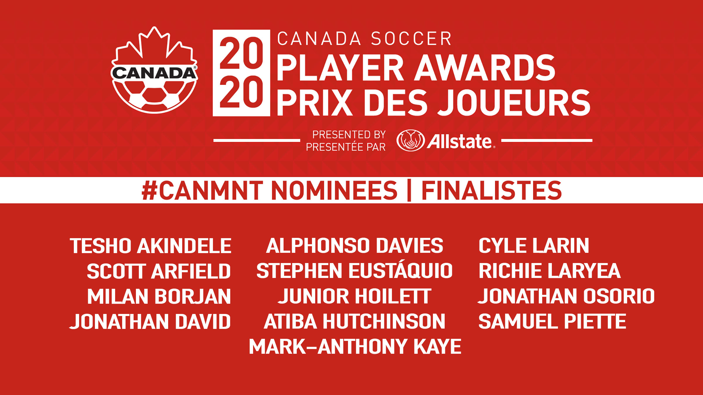 Player Award Nominees