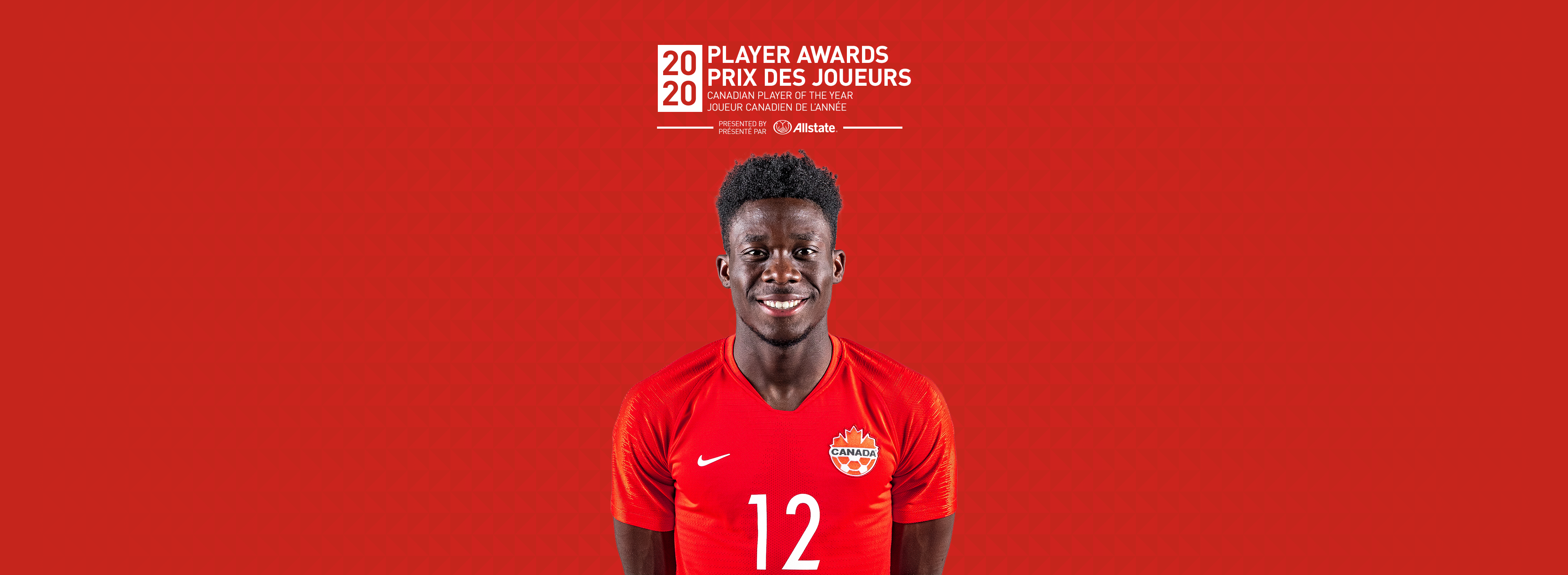 Player of the Year Alphonso Davies