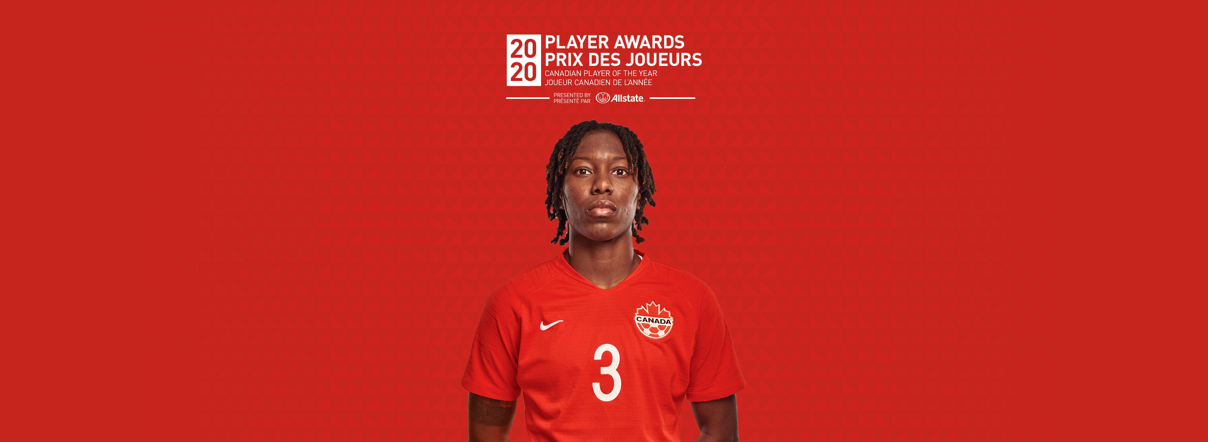 Player of the Year Kadeisha Buchanan