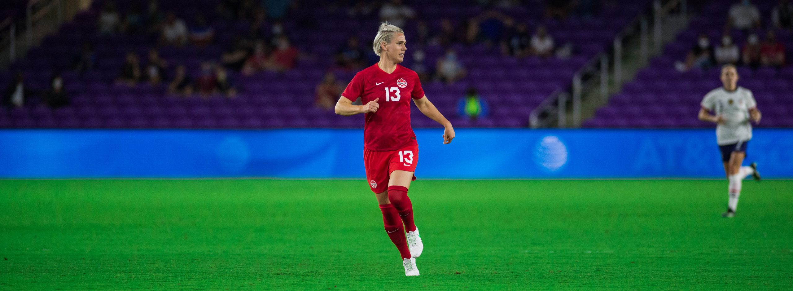 Sophie Schmidt makes her 200th appearance